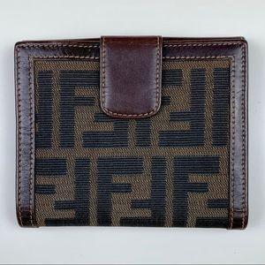 Fendi Zucca Wallet